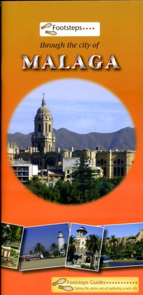Wandelgids Footsteps Through the City of Malaga   Footsteps guides