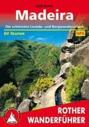 Wandelgids Madeira   Rother verlag (duits)   Rolf Goetz