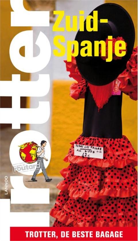 Reisgids Zuid Spanje   Trotter Lannoo