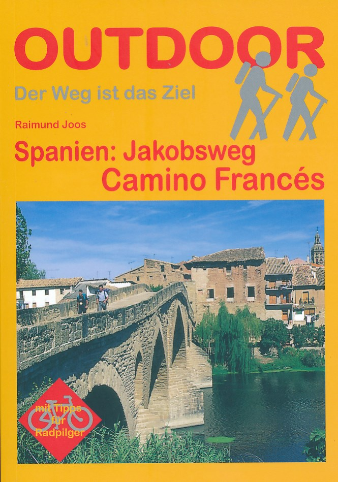 Wandelgids Jakobsweg Camino Francés   Conrad Stein verlag   Raimund Joos