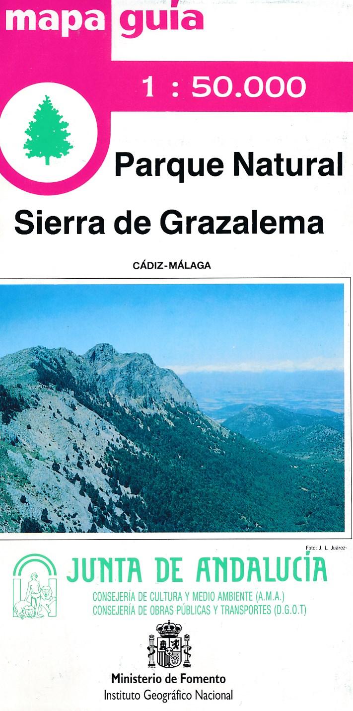 Wandelkaart Parque Natural Sierra de Grazalema   CNIG