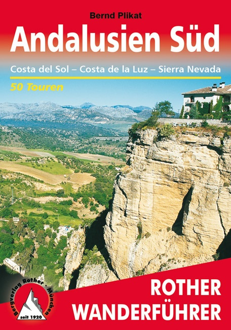 Wandelgids Andalusië süd - zuid - Costa del Sol - Costa de la Luz - Sierra Nevada   Rother