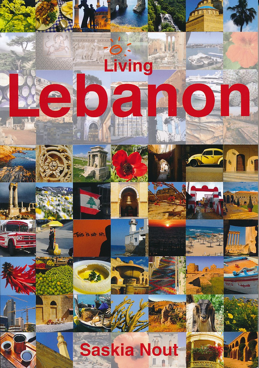 Reisgids Living Lebanon - Libanon   Saskia Nout