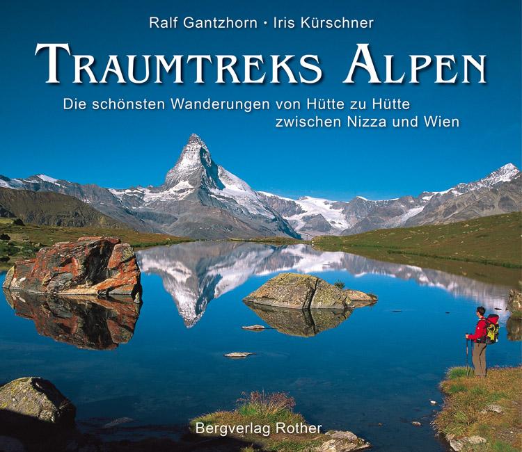 Fotoboek Traumtreks Alpen   Rother