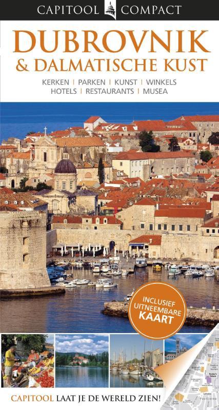 Reisgids Dubrovnik en Dalmatische kust   Capitool compact