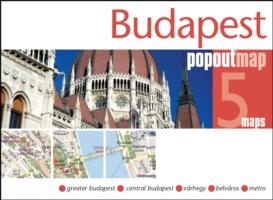 Plattegrond Boedapest Budapest PopOut Map   Compass Maps