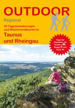 Wandelgids Taunus und Rheingau, band 344   Conrad Stein Verlag