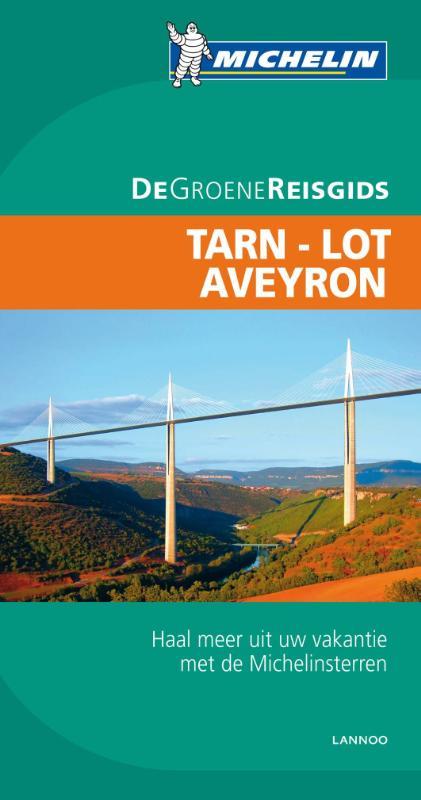 Reisgids Tarn Lot Aveyron   Michelin groene gids