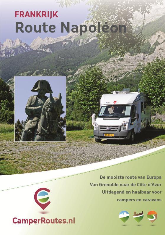 Campergids - Camperroute Route Napoléon   Travelscript   Mike Bisschops, Loes Bisschops