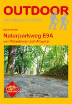 Wandelgids Mecklenburg-Vorpommern: Naturparkweg E9A   Conrad Stein Verlag   Martin Simon