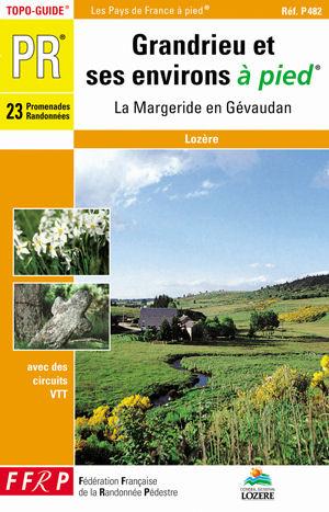 Wandelgids P482 Grandrieu et ses environs... à pied   FFRP