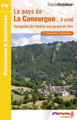 Wandelgids P487 Le Pays de la Canourgue... à pied   FFRP