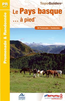 Wandelgids P642 - Le Pays Basque... à pied   FFRP