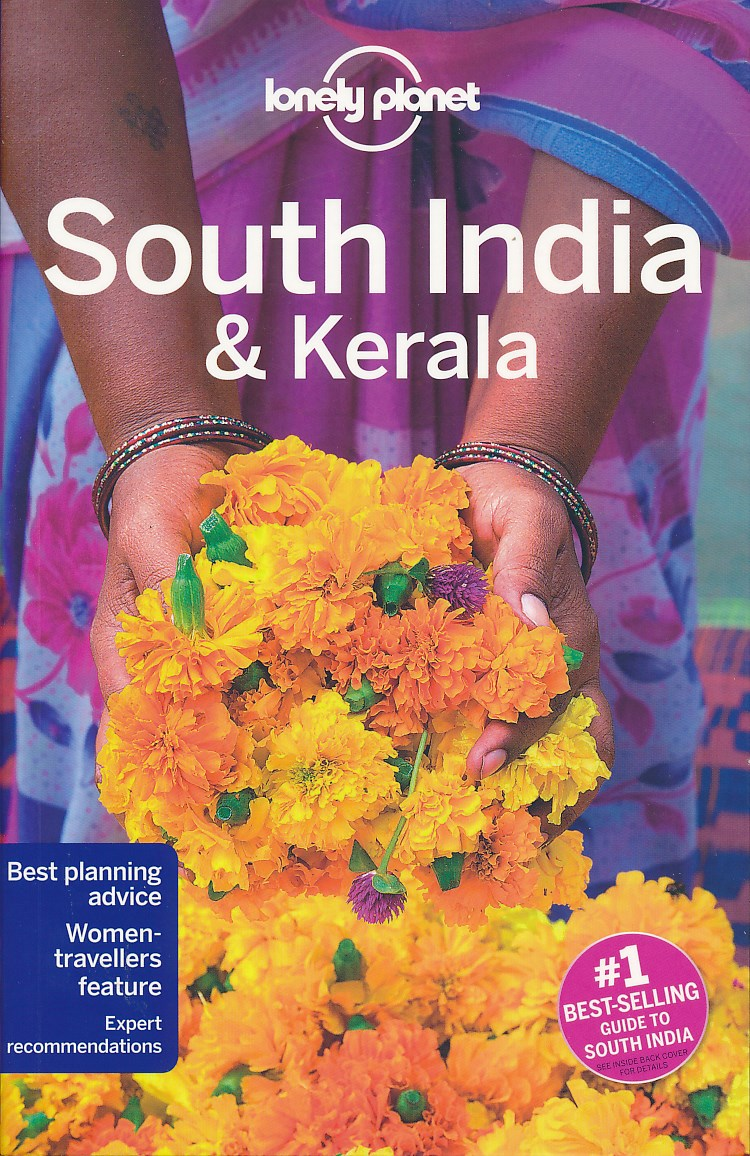 Reisgids South India & Kerala - Zuid India   Lonely Planet