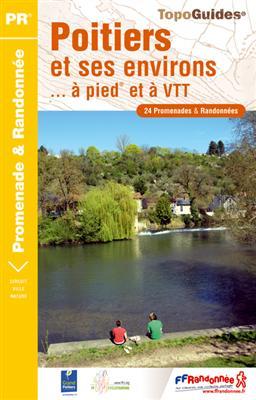 Wandelgids P861 Poitiers et ses environs... à pied et à VTT   FFRP