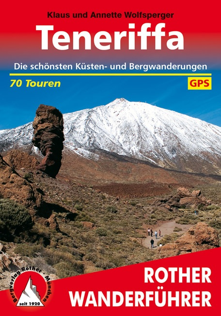 Wandelgids Tenerife - Teneriffa   Rother