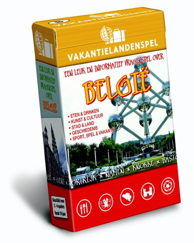 Spel - Vakantielandenspel België   Scala Leuker Leren