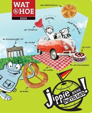 Kinderreisgids Jippie naar Duitsland !   Kosmos   Kitty van Zanten,Mireille Spaas