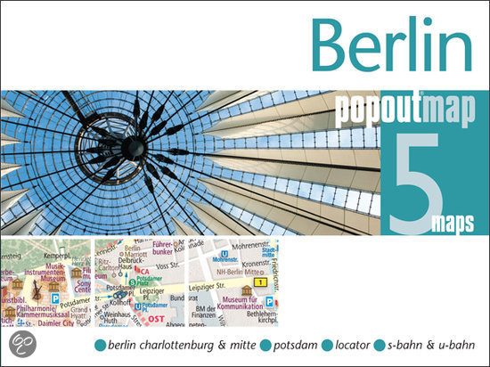 Plattegrond Berlijn Berlin Popout Map   Compass Maps