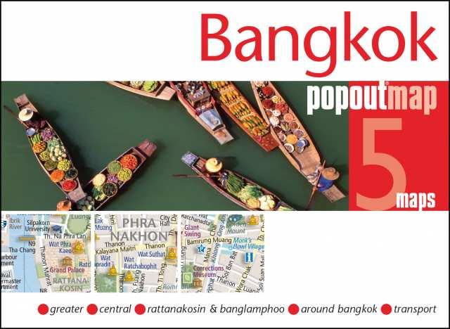 Plattegrond Bangkok Popout Map   Compass Maps
