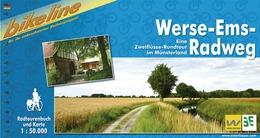 Fietsgids Werse-Ems-Radweg   Bikeline -Esterbauer