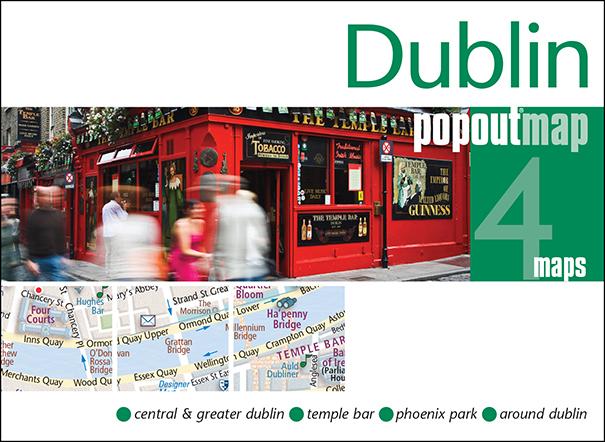 Plattegrond Dublin Popout Map   Compass Maps
