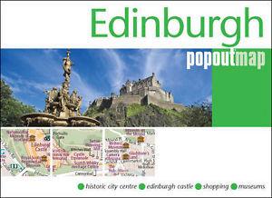 Plattegrond Edinburgh Popout Map   Compass Maps