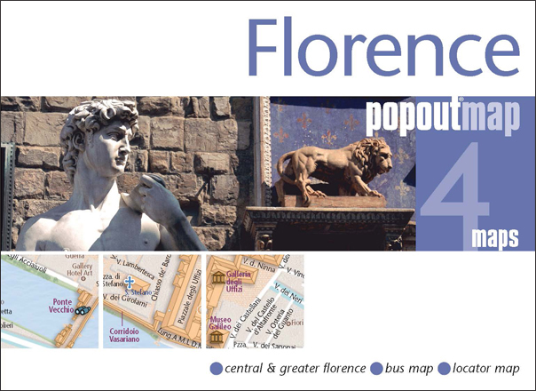 Plattegrond Florence PopOut Map   Compass Maps