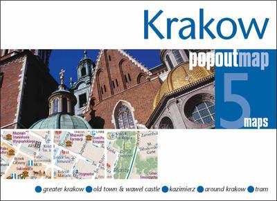 Plattegrond Krakau Krakow PopOut Map   Compass Maps