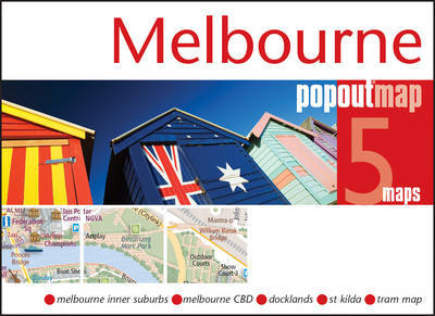 Plattegrond Melbourne PopOut Map   Compass Maps
