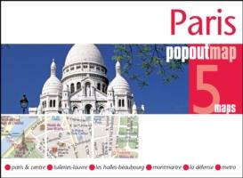 Plattegrond Parijs Paris PopOut Map   Compass Maps