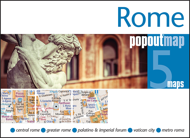 Plattegrond Rome Popout Map   Compass Maps