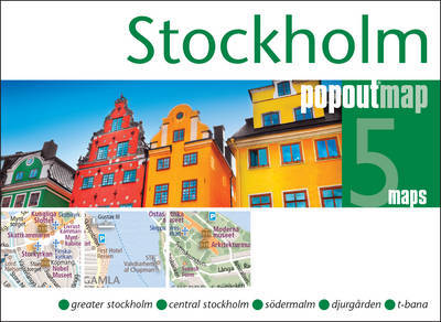 Plattegrond Stockholm Popout Map   Compass Maps