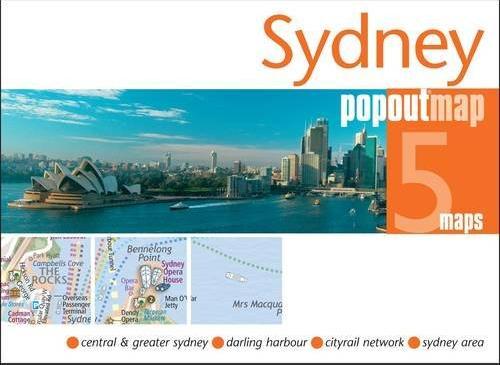 Plattegrond Sydney PopOut Map   Compass Maps