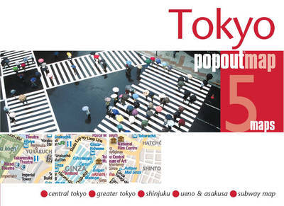 Plattegrond Tokyo PopOut Map   Compass Maps