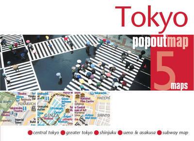 Plattegrond Tokyo PopOut Map   Compass Maps
