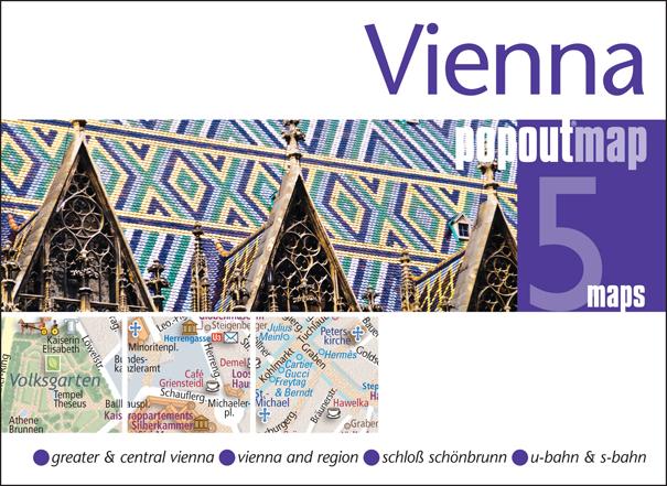 Plattegrond Wenen Vienna Popout Map   Compass Maps