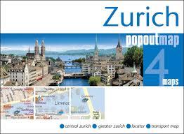 Plattegrond Zurich Popout Map   Compass Maps