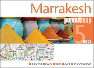 Plattegrond Marrakesh Popout Map   Compass Maps