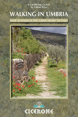 Wandelgids Umbrie - Walking in Umbria   Cicerone   Gillian Price