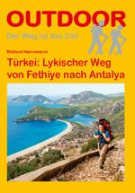 Wandelgids Turkije -  Lykischer Weg - Lycian Way   Conrad Stein Verlag   Michael Hennemann