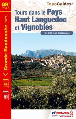 Wandelgids ref 3400 Tours dans le Pays Haut Languedoc et Vignobles   FFRP