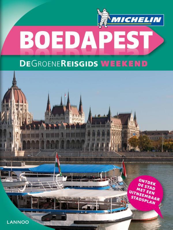 Reisgids Boedapest   Michelin groene gids weekend