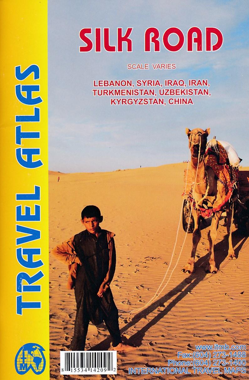 Wegenatlas - wegenkaart Silk Road - Zijderoute   ITMB