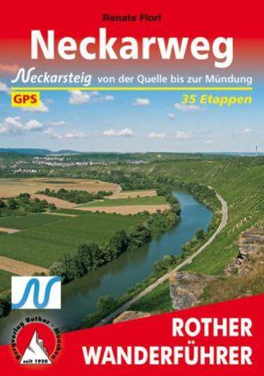 Wandelgids Neckarweg   Rother   Renate Florl