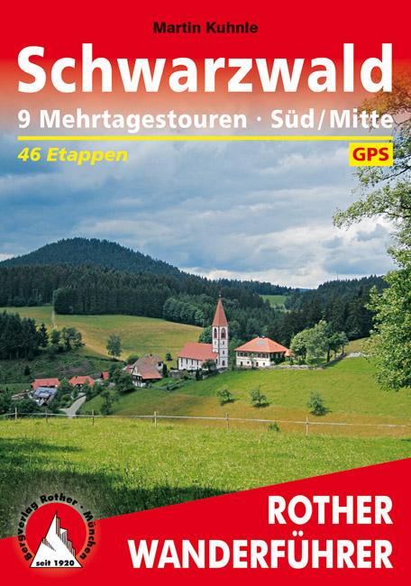 Wandelgids Schwarzwald S�d Mitte - Zwarte Woud   Rother   Martin Kuhnle