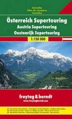 Wegenatlas Oostenrijk - Osterreich Supertouring   Freytag Berndt