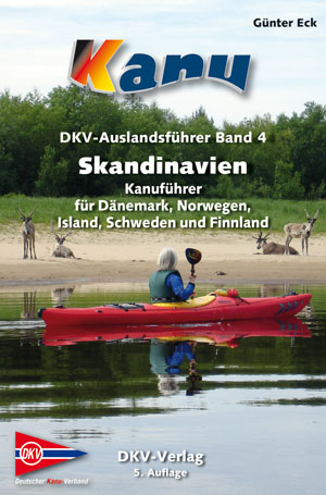 Kanogids Scandinavië - DKV Auslandsführer 04. Skandinavien   DKV   Günter Eck