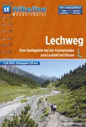 Wandelgids Lechweg   Hikeline