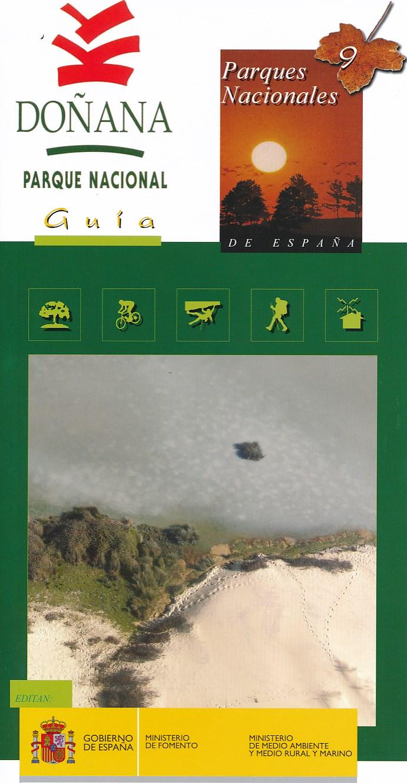 Wandelkaart Mapa-guía del Parque Nacional de Doñana   IGN